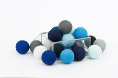 Cotton Balls Blackness Blue 10L
