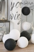 Cotton Balls Black&White 20L