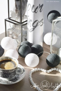Cotton Balls Black&White 50L