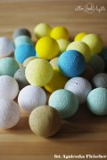 Cotton Balls Sunny Turquoise By Pretty Pleasure 10L