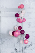 Cotton Balls Sweet Pink by Cotton Ball Lights 10L