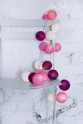Cotton Balls Sweet Pink by Cotton Ball Lights 50L