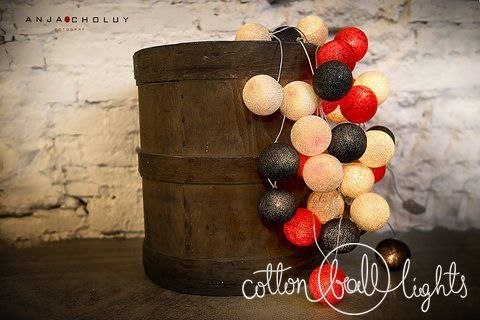 Cotton Balls WARM RED 50L